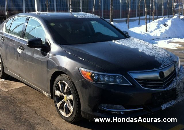 2014 Acura Rlx Uncovered Interior Dash Navigation Led Headlights Grill Wheels Alloys