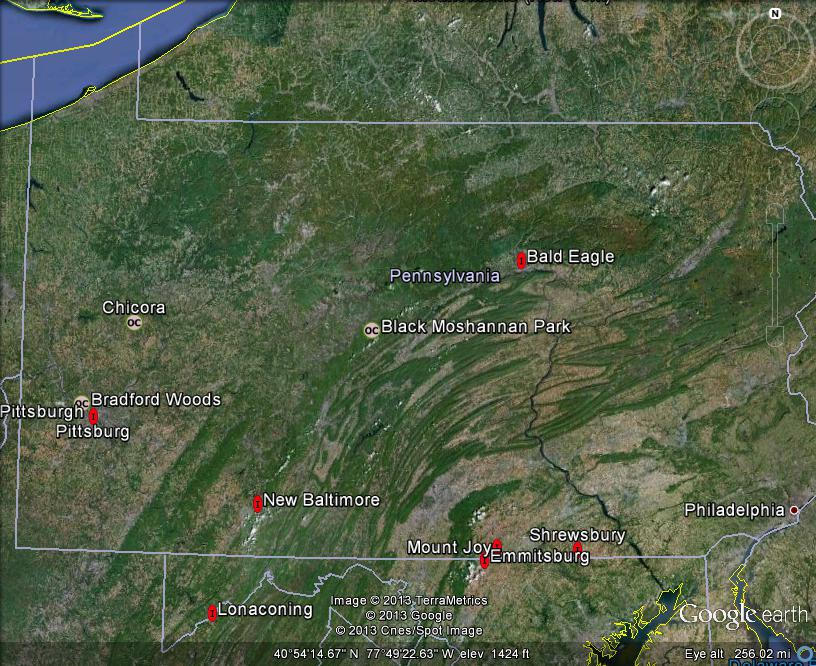Map Of Southwest Pennsylvania Picture Ideas References - Banshee Pennsylvania On Us Map