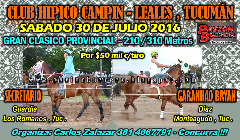CAMPIN - LEALES - 30 JULIO