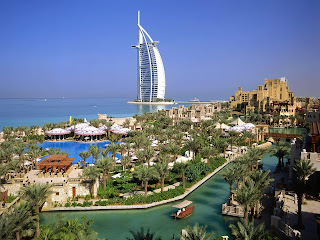 Burj Al Arab Hotel Saudi Arabia HD Wallpaper