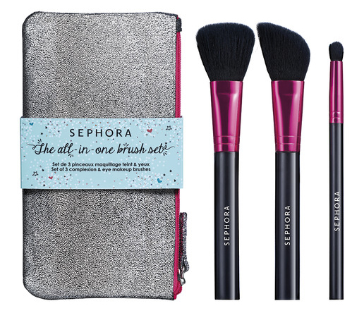 Set de brochas faciales, Sephora