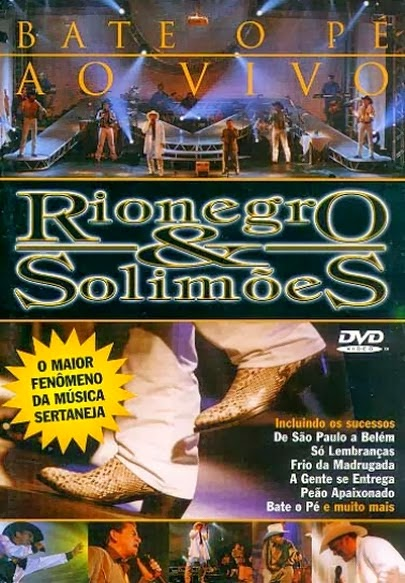 DVD Rionegro e Solimões - Bate o Pé Ao Vivo