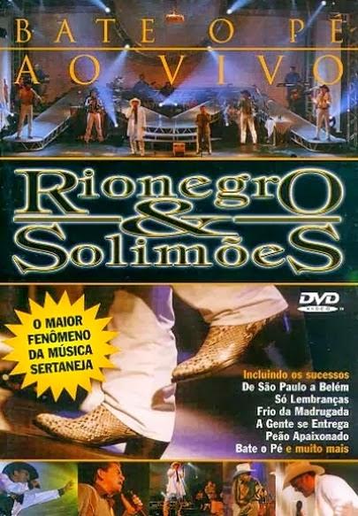 DVD Rionegro e Solimões - Bate o Pé Ao Vivo