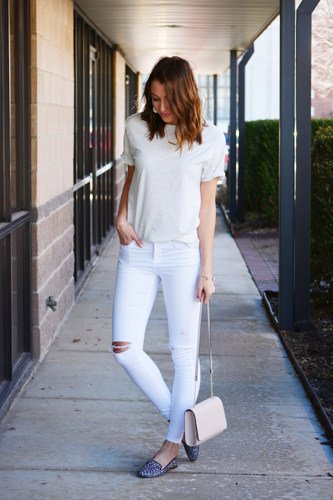 White spring outfit