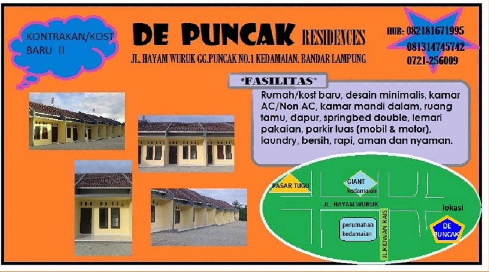 Rumah Kontrakan Minimalis Bandar Lampung | Info Kost & Kontrakan