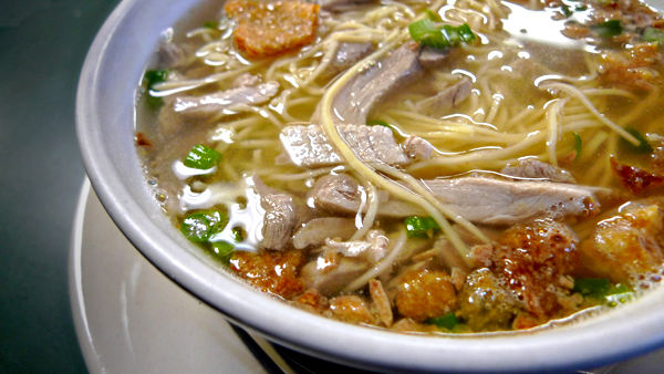 A bowl of La Paz batchoy