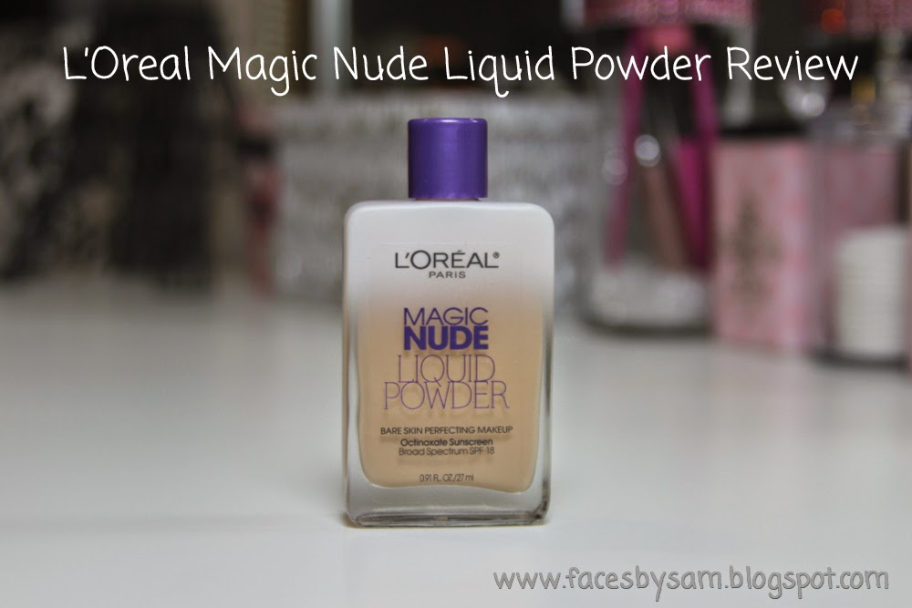 L'Oreal Magic Nude Liquid Powder Review