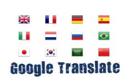 Google Translator Flags Widget For Blogger Blogspot