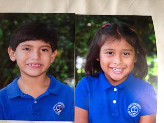 Jake y Mariela en la escuela