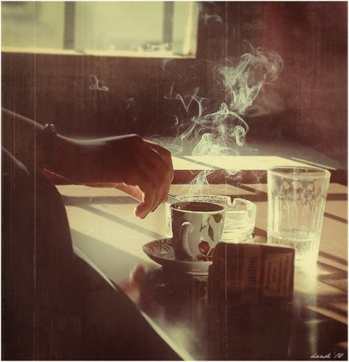bır yudum kahve