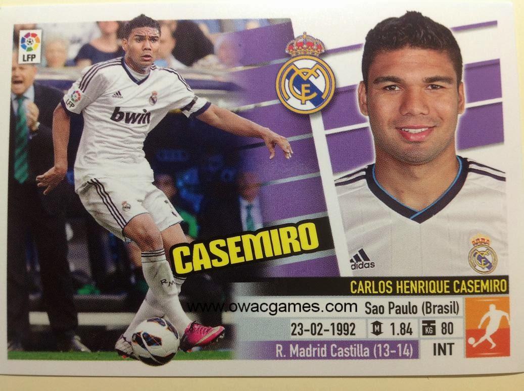 Liga ESTE 2013-14 Real Madid - 8B - Casemiro