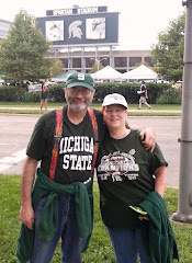 Deb and Joe at Spartan Stadium
