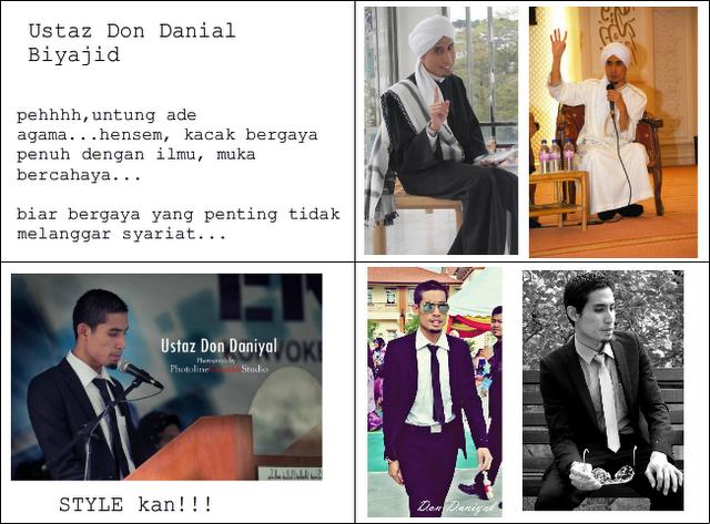 ustazdon Biodata Profil Ustaz Don (Don Daniyal Don Biyajid) | Koleksi Gambar Ala Model