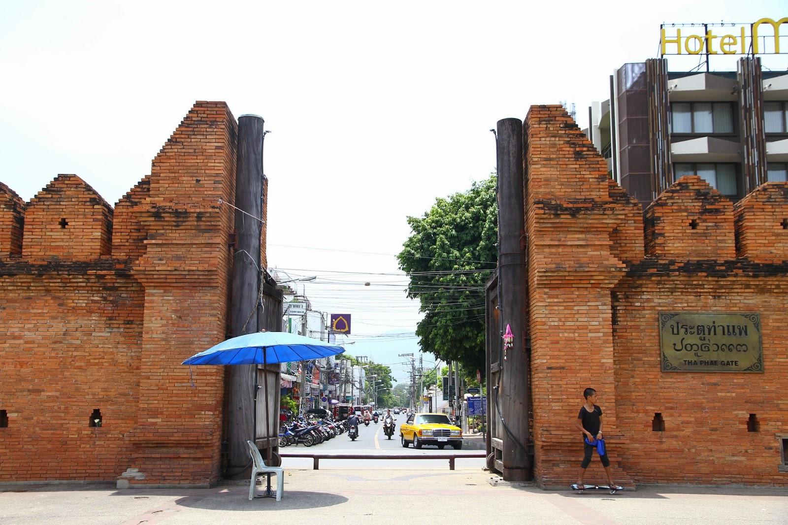 Logements pas chers à Chiang Mai - Les murailles