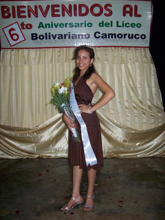 Mariobi I : Reina del Liceo Bolivariano Camoruco 2011