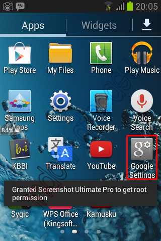 Langkah-langkah mengaktifkan Android Device Manager