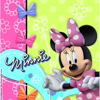 Disney Minnie Mouse Bow-tique Lunch Napkins