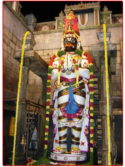 Hanuman Statue in Temple