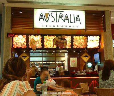 Austrália Steak House: Fachada