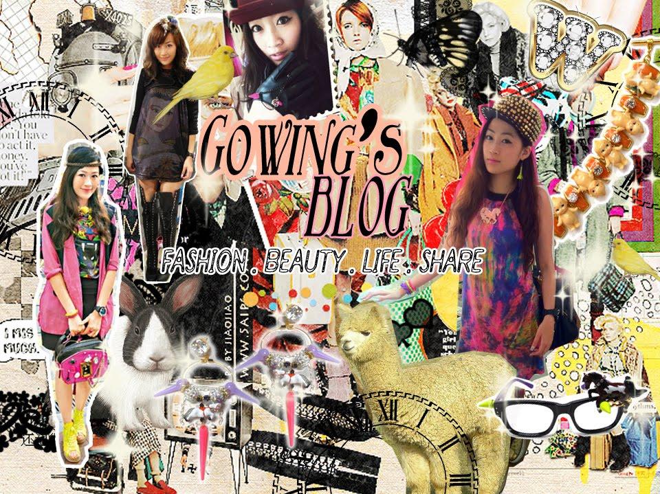 Gowing ♥ FaShIOn & BeAuty BLOG ♥ 高穎博客