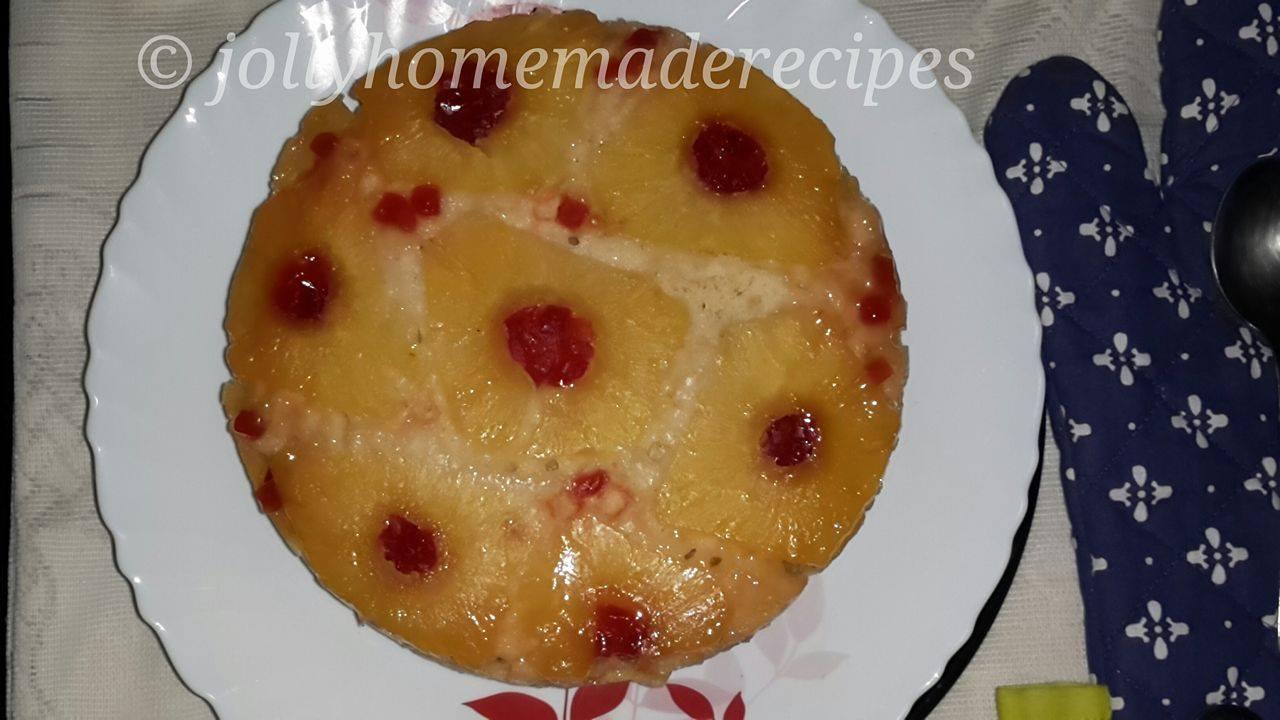 Simple Pineapple Upside Down Cake