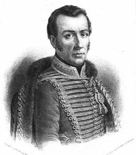 'Retrato del General chileno José Miguel Carrera'. 1854 Obra de don Narciso Desmadryl (1801 - 1890) tomado de Wikipedia