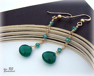 handmade green onyx
