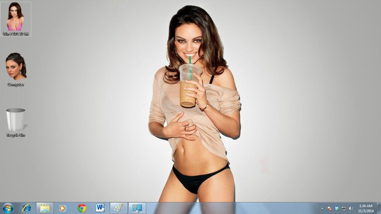 Міла Куніс Тема для Windows PC