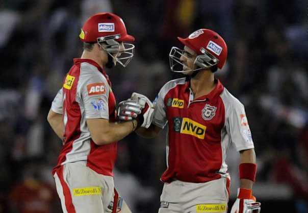 Mandeep-Singh-David-Miller-KXIP-vs-PWI-IPL-2013