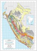 Mapa del Perú. Mapa Geológico del Perú en el año 2000 (mapa geolã³gico del perãº)