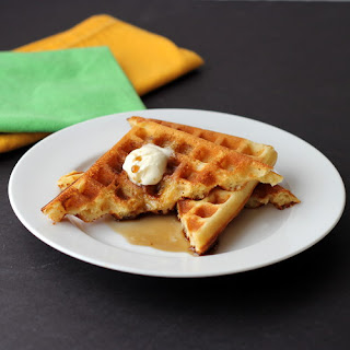 Cookistry: Brown Sugar and Sour Cream Waffles