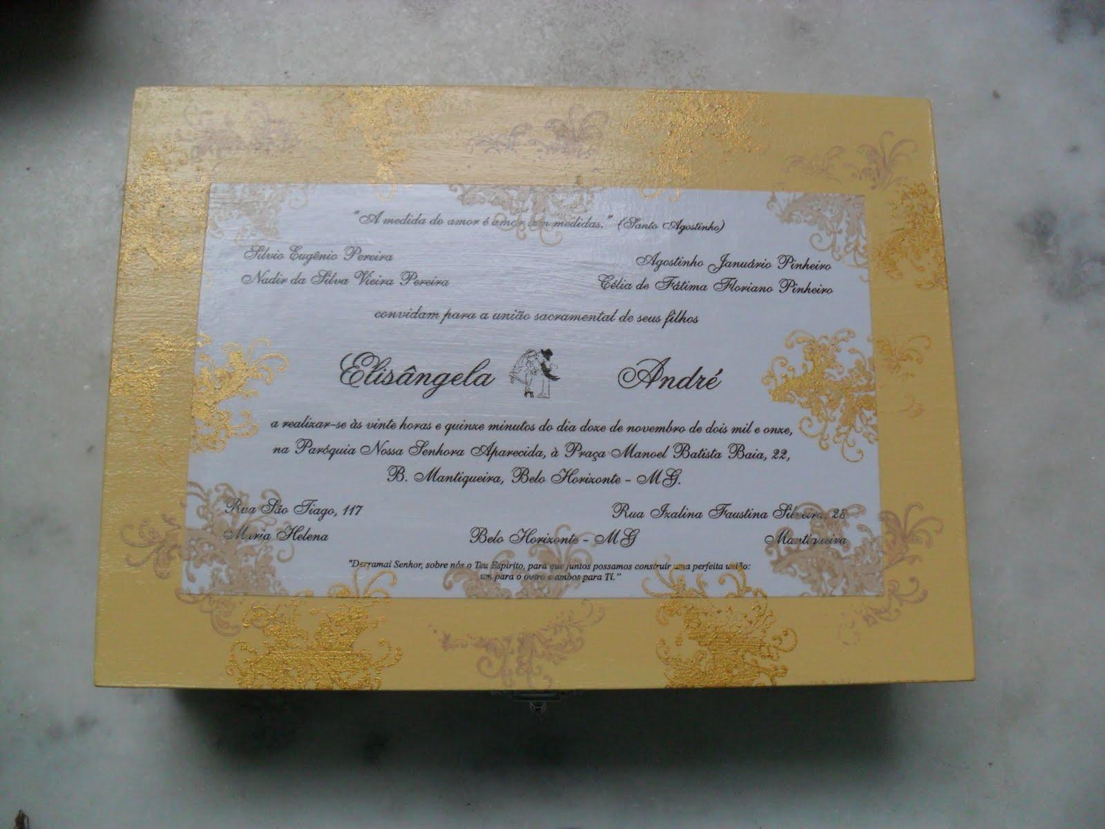 Rosa Biscuit: Caixas de madeira decoradas  Convite de Casamento #887343 1600x1200