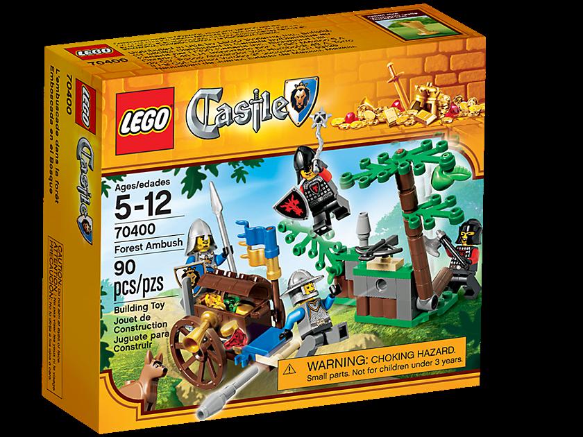 Lego Forest Ambush 70400