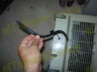 Eltallerdecarlos salida de agua de aire acondicionado for Salida aire acondicionado