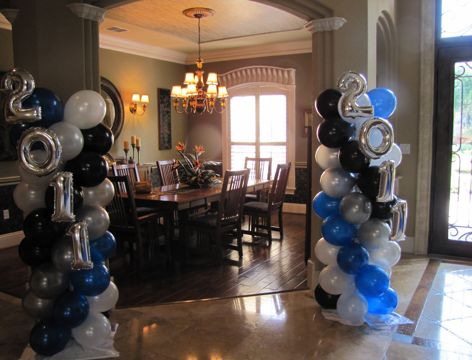 Party people event decorating company lakeland christian for Balloon decoration company