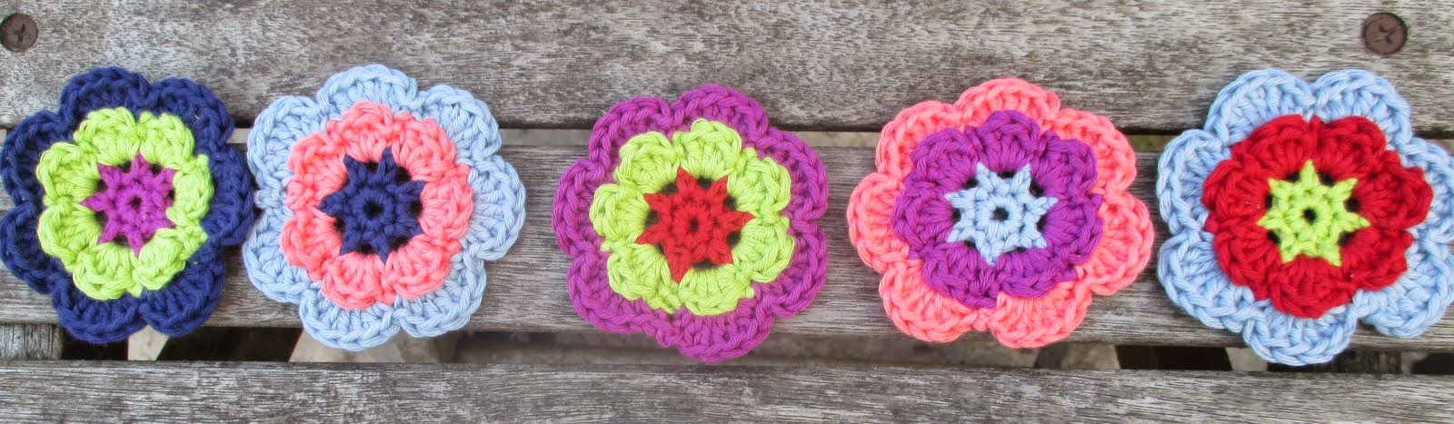 Crocheting Too Loose : ... better, flower flatter than the first, tension possibly too loose