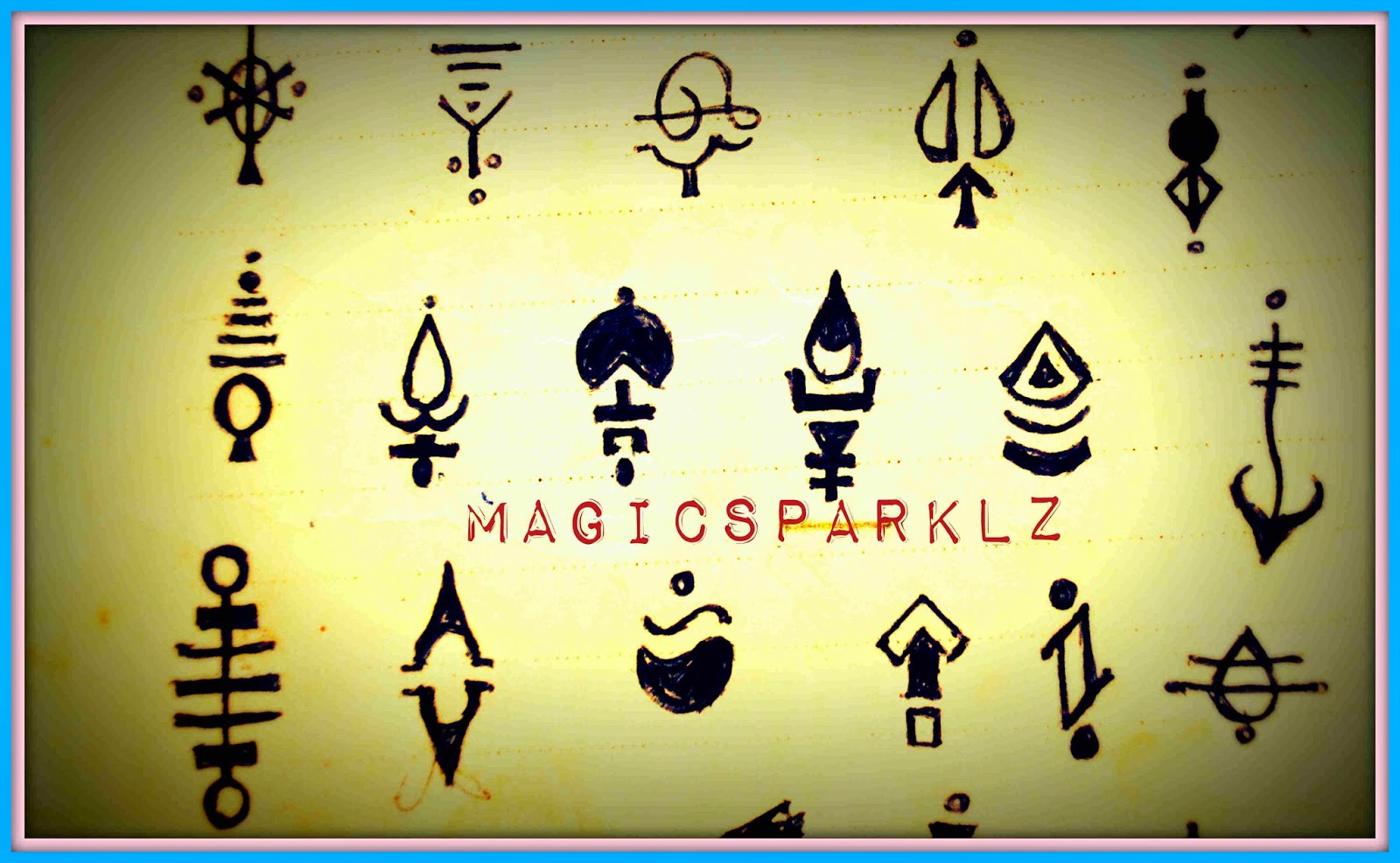 Magic Sparklz Bindi Designs 2