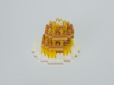 ナノブロックで作ったホットケーキ