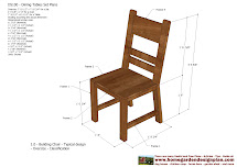 Outdoor Dining Chair Woodworking Plans