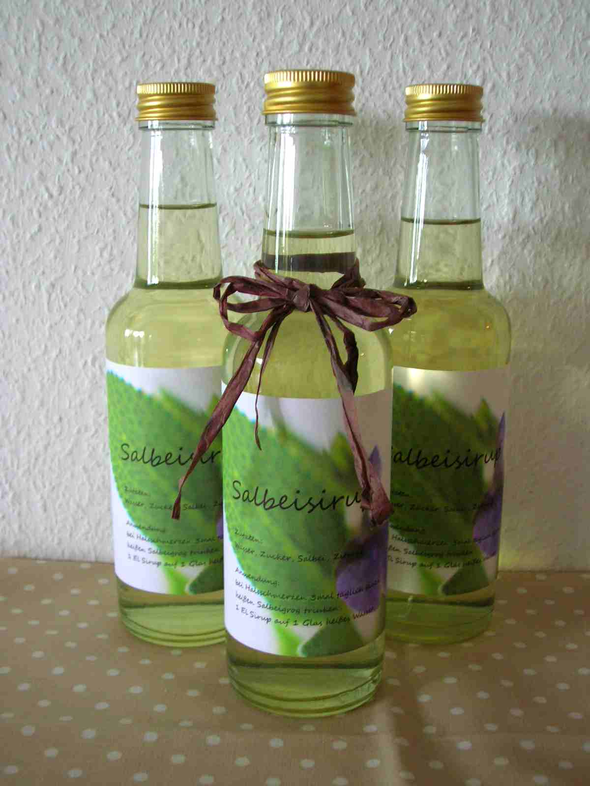 fliegenpilzle salbeisirup selber machen. Black Bedroom Furniture Sets. Home Design Ideas