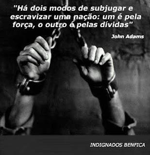 escravizar povos divida