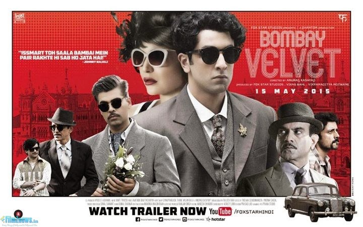 Bombay Velvet (2015) First Look Posters 1