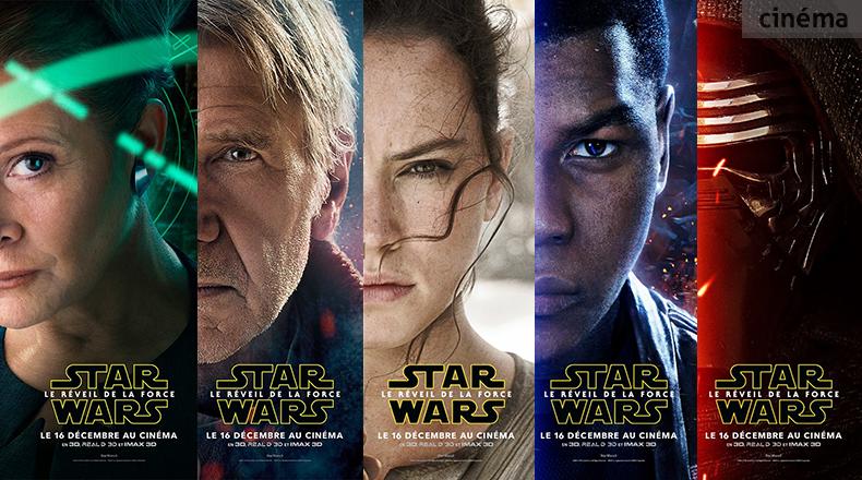 Star wars 7 5 nouveaux posters pour 5 personnages - Personnage star wars 7 ...