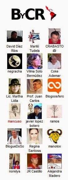 Blogueros y Corresponsales de la Revolución