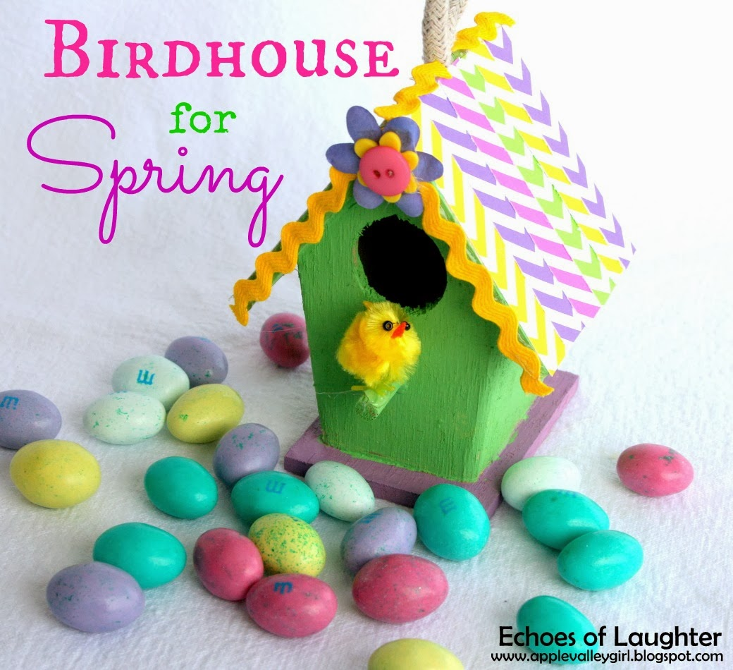 Birdhouse Craft For Spring