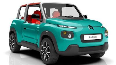 buongiornolink - Citroën, torna un'icona ma la E-Mehari è tutta elettrica