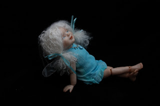 Шарнирная кукла 'Фея воды' (BJD)