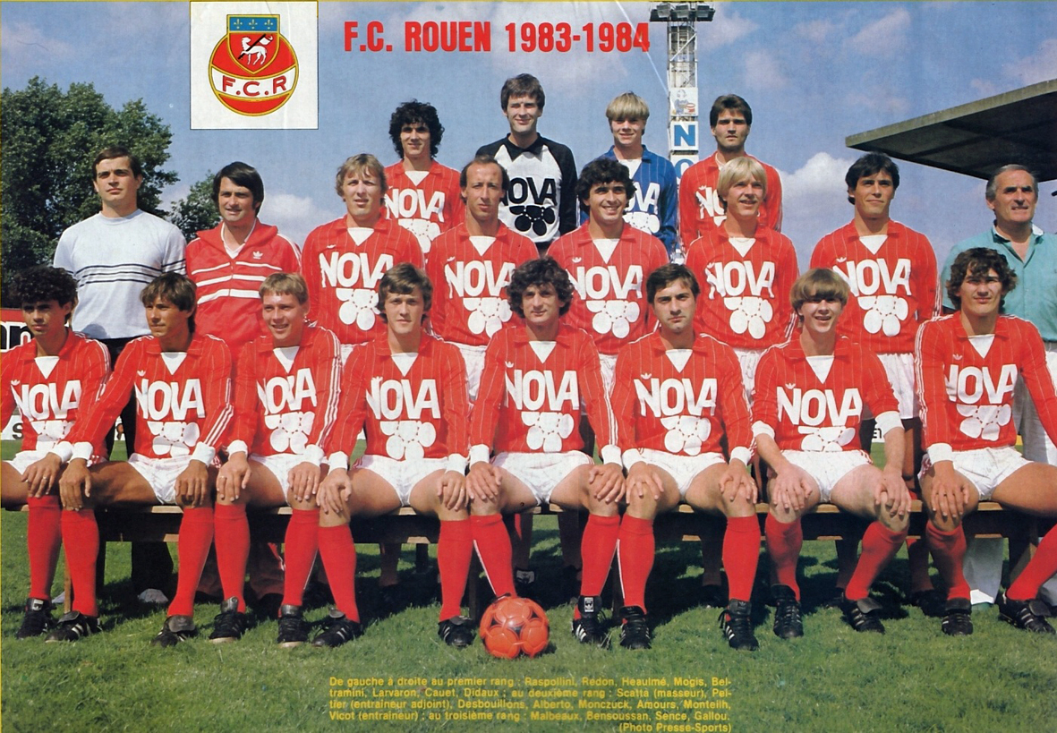 l 39 quipe du dimanche apr s midi f c rouen 1977 78 the vintage football club. Black Bedroom Furniture Sets. Home Design Ideas