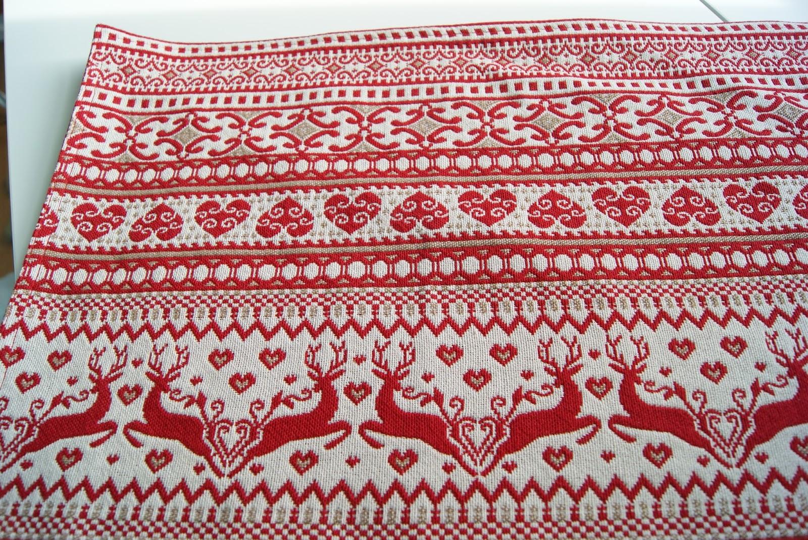 Scandinavian woven placemat