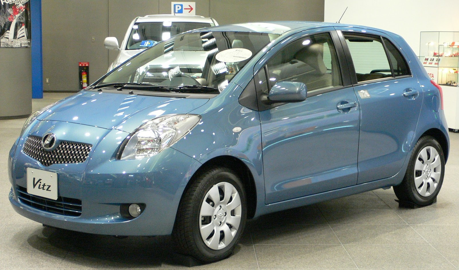 Toyota Vitz Car Models